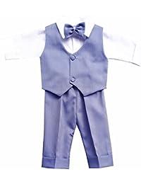 Taufanzug Festanzug Anzug Weste Hose Hemd Fliege MützeTaufe Baby Set