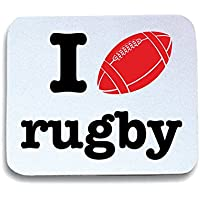 Cotton Island - Tappetino Mouse Pad T0139 i love rugby