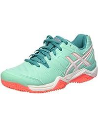 ASICS Gel Challenger Zapatillas de Tenis Para Mujer Blanco blanco Talla:5.5 GRbv16tK