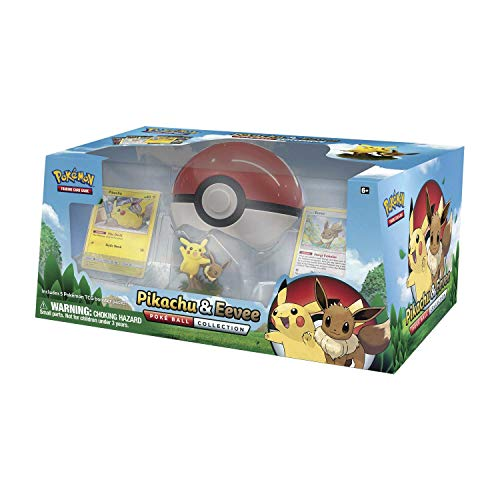 Pokémon 80407 Pokemon-Pikachu und Eevee Pokeball-Kollektion