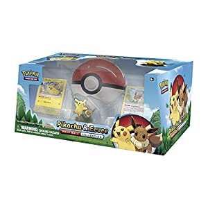 Pokémon 80407 Pokemon-Pikachu y Eevee Poke Ball Collection