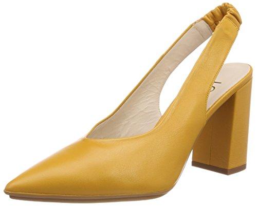 Lodi RINATO, Zapatos de tacón con Punta Cerrada para Mujer, Naranja Sweet Safron Safron, 38 EU