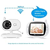 """Best baby Monitor - LESHP Wireless Baby Monitor, Videocamera Bambini 3.5"""" LCD Review"""