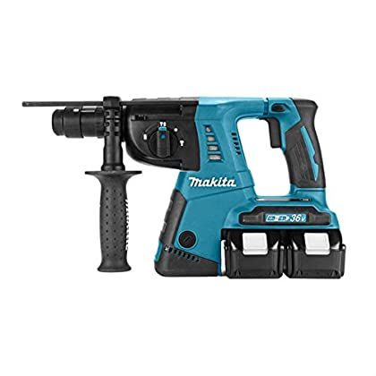 Makita DHR264PT2J Martillo Ligero SDS Plus 2x18V 5Ah Li-ion + mandrino intercambiable + maletin Makpac