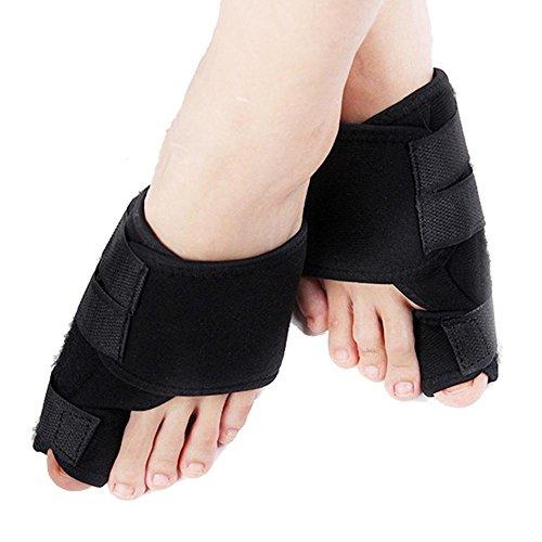 Oxoqo alluce valgo correttore, Bunion Protector kit per alluce valgo borsite del sarto Hammer toe sollievo dal dolore include Big Toe strap