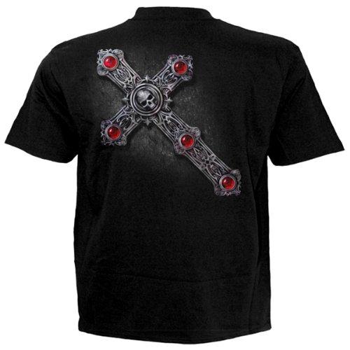 Spiral T-Shirt GOTHIC GUARDIAN #35032 Schwarz