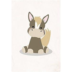 Postkarte Dreamchen Kinderzimmer Deko Pferd