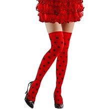 Señoras Mariquita Sobre Calcetines de Rodilla 70 Den accesorios para Animal Jungle Farm vestido de lujo