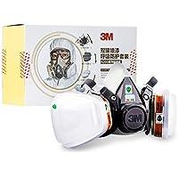 JIFENG Mascara de Gas, Pintura, máscara Protectora, Polvo Industrial respirador, Gases químicos, Control de Olor,Un