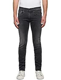 Replay Herren Slim Jeans Anbass Hyperflex