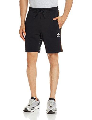 adidas Herren Essentials Shorts Black/Earth Khaki