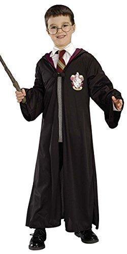 Fancy me con licenza ufficiale bambini bambine harry potter hermione vestaglia occhiali e bacchetta libro giorno settimana costume vestito 8-10 anni