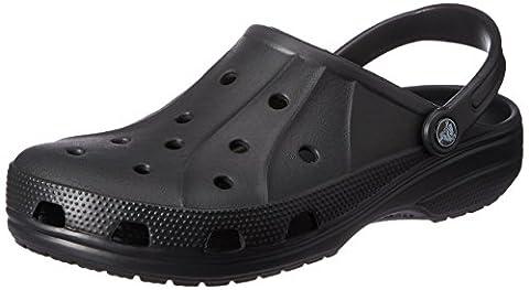 Crocs Ralen, Unisex-Erwachsene clogs , schwarz - schwarz/schwarz - Größe: 44.5 EU