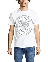 74ddb27b9c6 Versus Versace - T-Shirt - Manches Courtes - Homme Blanc Blanc