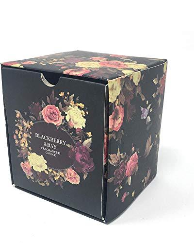 Terapia dell'aroma Duftkerze, Duft: BlackBerry Bay, exotisches Aroma, natürliches Wachs, 7,6 cm