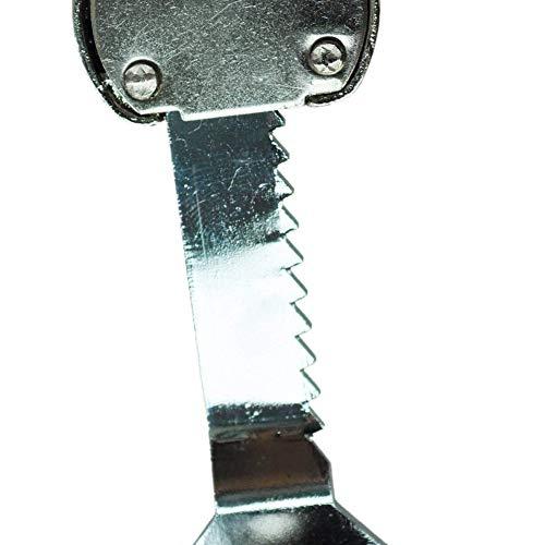 411BlNpNW L - Hemore Reptile Vivarium Terrarium - Vitrina de cristal para puerta corredera y llave, color negro