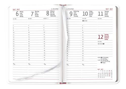 "Agenda settimanale Ladytimer 2019 /""Today/"" 10,7x15,2 cm"