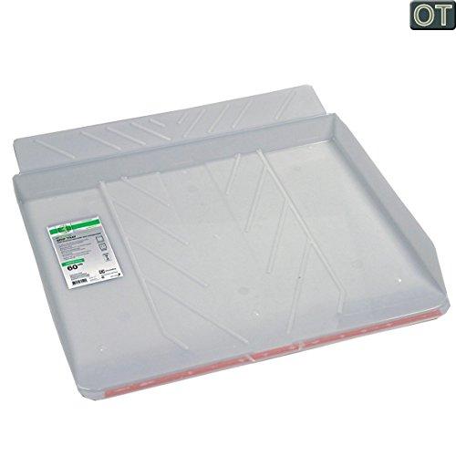 VIOKS Bodenwanne Auffangbehälter Wasserwanne Auffangwanne für Waschmaschine oder Spülmaschine wie AEG 902979333 9 E2WHD600 610x600x53mm