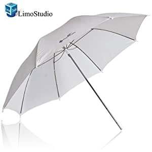 "LimoStudio 33"" White Transparent Photo Umbrella Studio Reflector, AGG124"