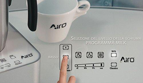 Cappuccinatore, Montalatte elettrico , Macchina Cioccolata, Schiumatore, Scaldaliquidi, Airo, AiroCap Ultimate - 2