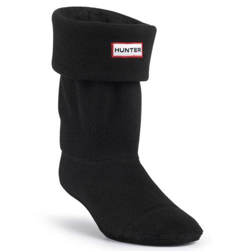 SV Hunter - Calze in pile originali per stivali Hunter, da bambino, unisex, colore nero Nero (nero)