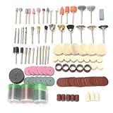 230pcs 1/8 Zoll Drehwerkzeug Zubehör Kit Schleifen Schleifen Polieren Schleifwerkzeug-Set