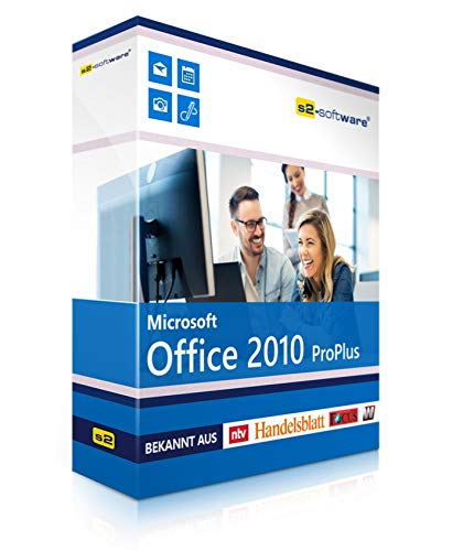 Microsoft® Office Professional (PRO) 2010. ISO CD / DVD. 32 bit & 64 bit. Deutsch. Original Lizenz.