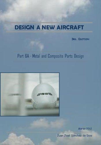 DESIGN A NEW AIRCRAFT - Diseñar un Nuevo Avión - Part 6A -  Design of aircraft structures. Metal and composite parts - Piezas metálicas y en materiales compuestos por Juan José Sánchez de Dios