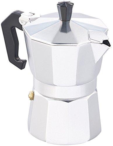 Cucina di Modena Kaffekocher: Espresso-Kocher für 3 Tassen, für Gas, Elektro-Herd und Ceran-Feld (Espressokocher für Herde)