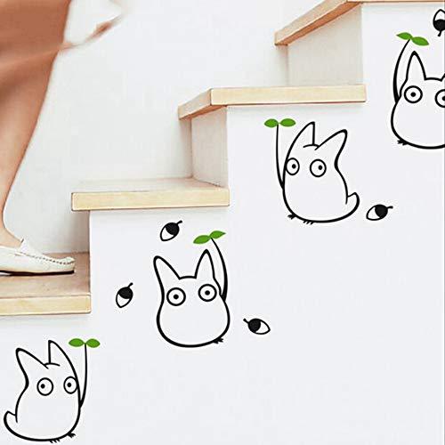 pegatina de pared 3d etiqueta de la pared Vinilos de vinilo Totoro,...