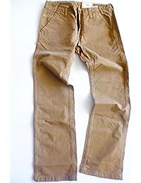 Pepe Jeans Colt Herren Hosen, Braun Rein Baumwolle Herren Hose Große; W 33, L34
