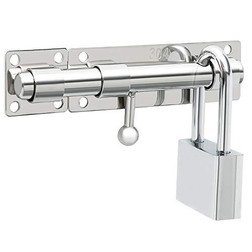 sayayo 5-1/2pulgadas Slide pestillo para puerta perno seguridad