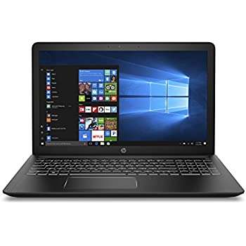 "HP Pavilion Power 15-cb009ns - Ordenador portátil de 15.6"" Full HD (Intel Core i7-7700HQ, 8 GB RAM, 1 TB HDD, Nvidia GeForce GTX 1050 2 GB, Windows 10) negro y blanco - Teclado QWERTY Español"