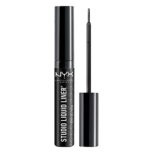 NYX - Studio Liquid Liner SLL102 Extreme Noir - 0,384 fl. onces. (1,1 ml)