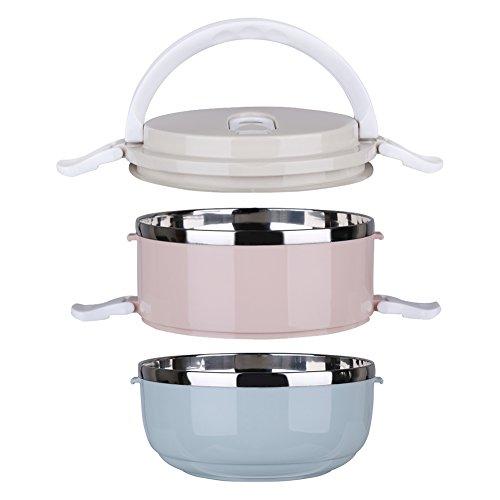 Bunte tragbare Lunchbox mit Edelstahl Wärmeisolierung