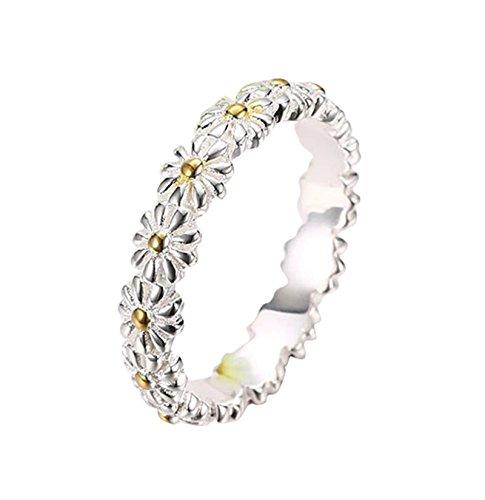 Adisaer Ring Silber Jugendstil Ringe Damen 925 Silber Damen Silberring 925Er Sterling Silber Vintage...