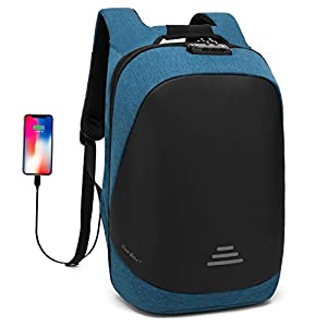 411Buyx0jBL. SS300  - UTOTEBAG Antirrobo Mochila Portátil 15.6 Pulgadas Hombre Impermeable con Puerto USB Mochila Backpack para Portátil Multiusos Daypacks Ocio/Negocio/Viaje/Mujer