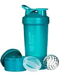 Blender Bottle ProStak 650 ml Gourde Secoueur avec Boîtes Supplémentaires 100,150 ml + Compartiment à Pilules