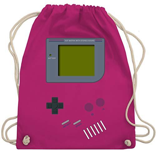 Nerds & Geeks - Gameboy - Unisize - Fuchsia - WM110 - Turnbeutel & Gym Bag