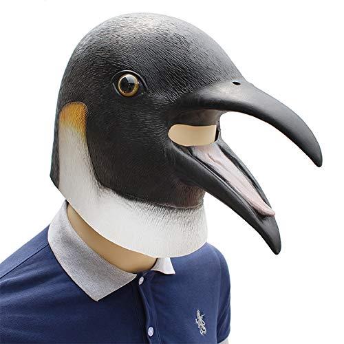 Pinguin Kostüm Billig - Unbekannt Halloween Maske Sich Bis die Pinguin Masken Maskerade Partei Cosplay Tier Mascara Carnaval Masque