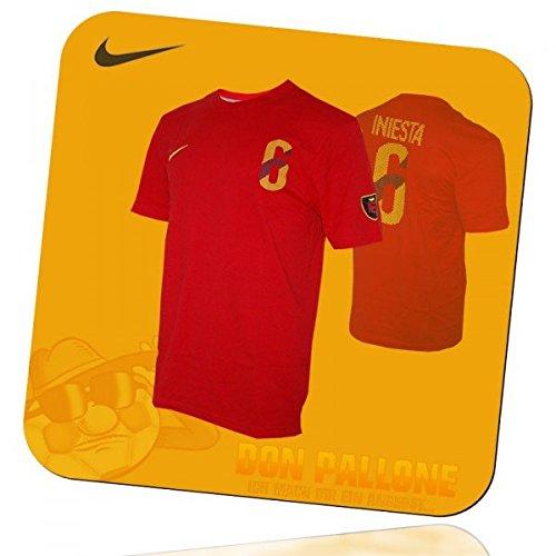 Spanien T-Shirt Iniesta, M