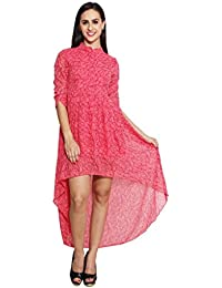 Panit Pink Up And Down Dress