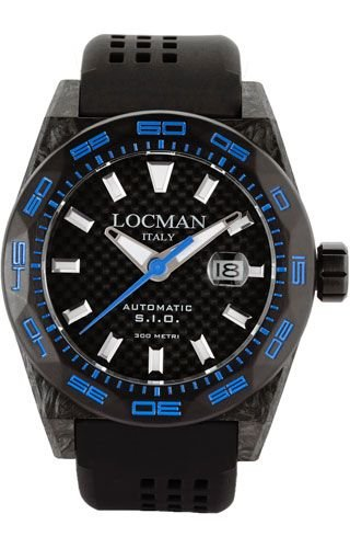 Locman 0216V3CBCBNKBS2K Black Titanium Man Watch
