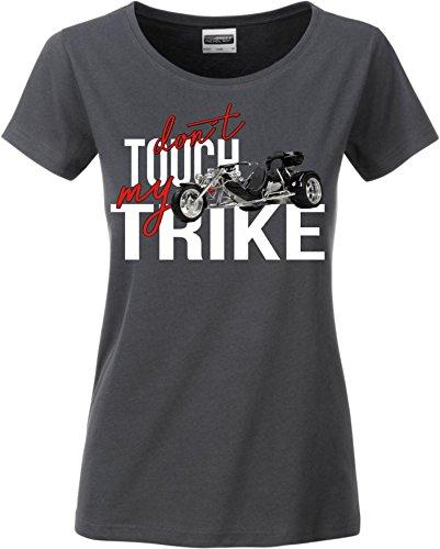 Siviwonder Women T-Shirt - Trike Dreirad - Dont Touch My - Motorrad Fun Dark Grey M - 36