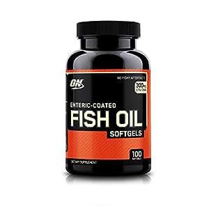 Optimum Nutrition (ON) Fish Oil Omega-3 Fatty Acids - 100 Softgels