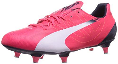 Puma evoSPEED 5.3 SG Herren Fußballschuhe Rot (bright plasma-white-peacoat 03)