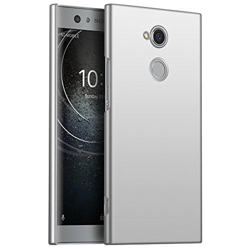 Sony Xperia XA2 Hülle, Stilvoller Ultradünne Handyhülle. GOGME Hart Schutz Schutzhülle Für Sony Xperia XA2. Der Einfachste Und Effektivste Schutz Abdeckung Des Telefon. Silber