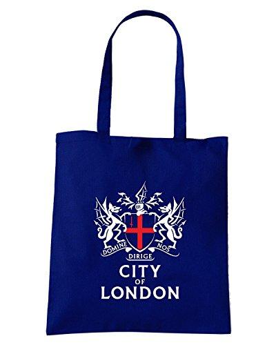 T-Shirtshock - Borsa Shopping TUM0223 city of london Blu Navy