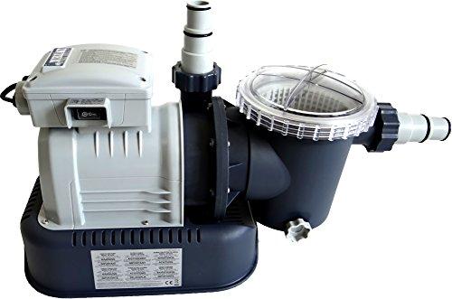 Pumpe, Motor, für Sandfilteranlage, Vorfilter, 10000 L/h 2 Adapter, ohne Kessel,