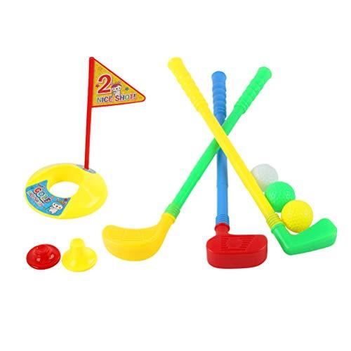 Vosarea Kunststoff Golf Club Set Kinder Sport Spielzeug für Indoor Outdoor